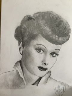Lucille Ball by tikkileo